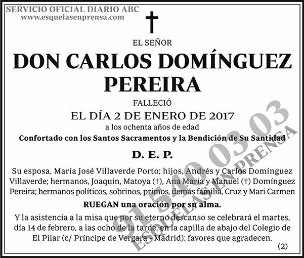 Carlos Domínguez Pereira